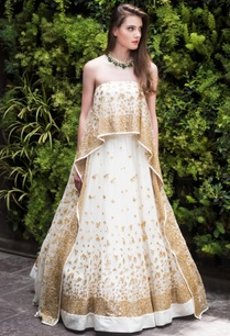 embroidered-asymmetric-cape-with-lehenga