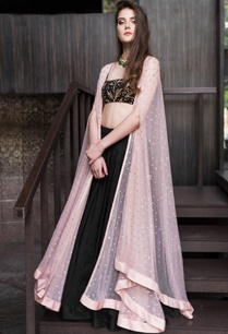 sequin-embroidered-cape-with-crop-top-lehenga