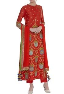dori-embroidered-printed-kurta-set
