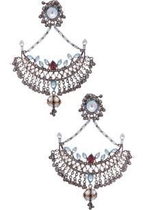 floral-frame-chandbali-earrings