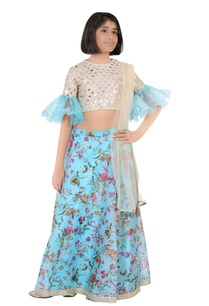 embroidered-blouse-with-printed-lehenga-and-dupatta