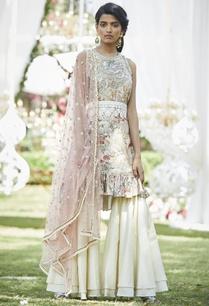 floral-print-kurta-with-sharara-pants