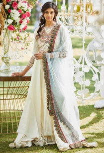 embroidered-anarkali-kurta-with-churidar-dupatta