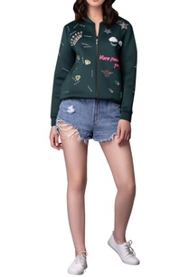 embroidered-zippered-bomber-jacket