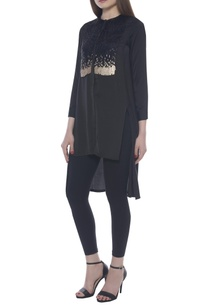 sequin-embroidered-high-low-tunic