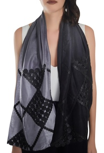 circular-pattern-leather-work-stole