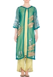 printed-embroidered-jacket-with-kurta-and-pants