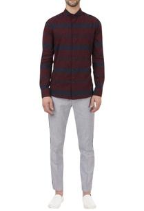horizontal-striped-regular-fit-shirt