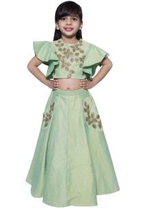 leaf-cutdana-blouse-with-lehenga