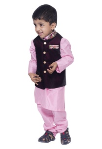 embroidered-nehru-jacket-with-kurta-set