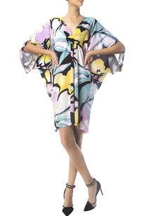 printed-embroidered-kaftan-dress