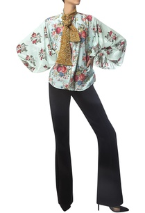 front-zip-printed-blouse