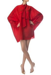 oversized-shirt-with-crystal-embroidered-bow