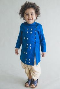 embroidered-kurta-with-dhoti-pants