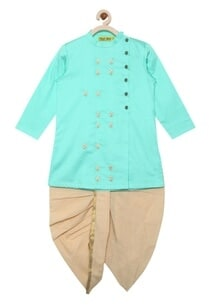 embroidered-kurta-with-dhoti-pants