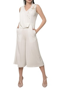 embroidered-draped-culotte-jumpsuit