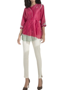 colour-blocked-digital-print-wrap-blouse-with-inner
