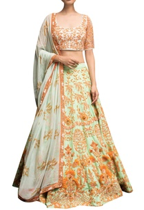 floral-embroidered-blouse-with-lehenga-dupatta