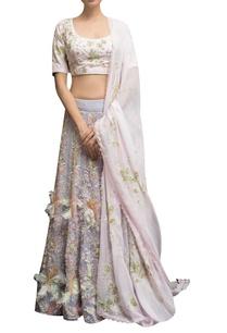 embellished-blouse-with-feather-detail-lehenga-dupatta