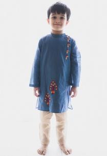 embroidered-peacock-kurta-with-pants