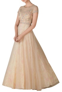 embroidered-flared-gown