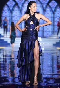 metallic-criss-cross-draped-gown