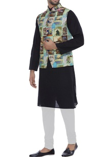 printed-nehru-jacket-with-chest-pocket