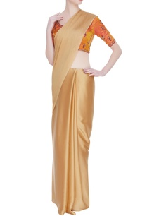back-closure-embroidered-saree-blouse