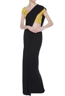 gold-dori-work-embroidered-saree-blouse
