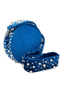 scattered-pearl-embellished-round-clutch