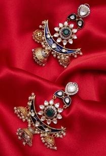 chandbali-moon-jhumka-earrings