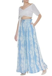 hand-block-printed-pants-with-wrap-crop-top