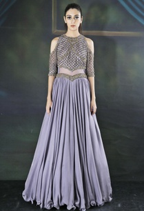 purple-cold-shoulder-anarkali
