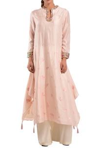 pink-chanderi-silk-kurta