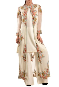 white-floral-jacket-trousers