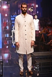 floral-embroidered-sherwani-with-silk-kurta-churidaar