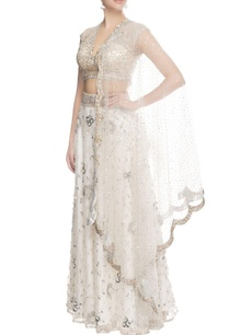 white-sequin-lehenga-with-dupatta