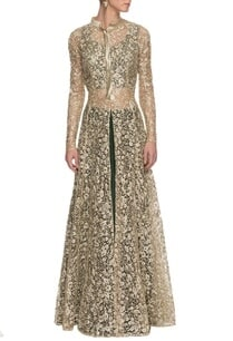 white-gold-embroidered-jacket-with-emerald-lehenga-set