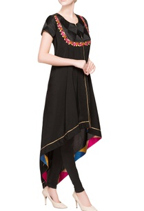 black-asymmetric-kurta-with-leggings