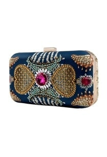 blue-kundan-printed-clutch