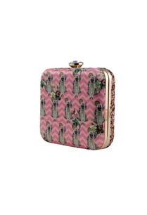 pink-shrinathji-printed-clutch