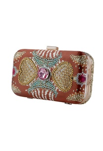 brown-kundan-printed-clutch