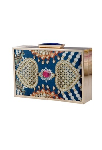blue-jewel-printed-clutch