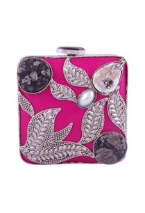 hot-pink-leaf-pattern-clutch
