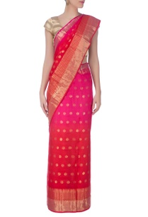 pink-red-shaded-gold-banarasi-sari%c2%a0