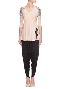 pink-mirror-embellished-angarkha-top