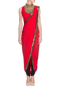 red-embroidered-draped-sari-with-blouse