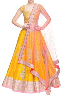 yellow-rose-pink-floral-embroidered-lehenga-set