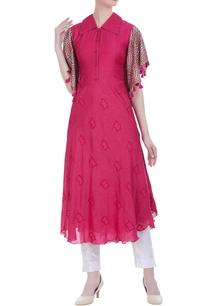 collar-style-flared-dress