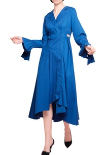 yale-blue-blended-cotton-high-low-coat-style-midi-dress